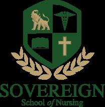 The official logo of Sovereign School of Nursing in Miami Florida